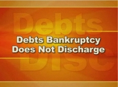 learn what the limitations of bankruptcy are.